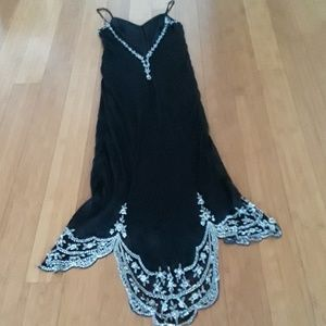 Basix II Dresses - Basix II silk evening gown